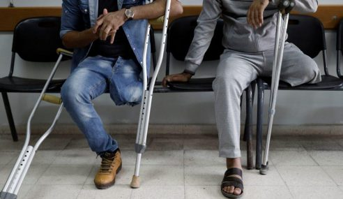 1,700 Penduduk Palestin Bakal Cacat