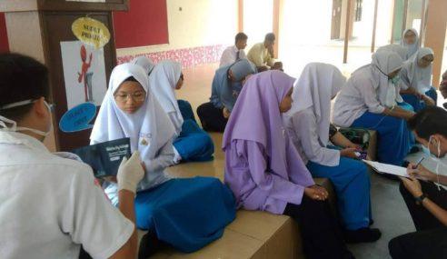 JPN P.Pinang Siasat Punca 13 Pelajar Terhidu Gas Iodin