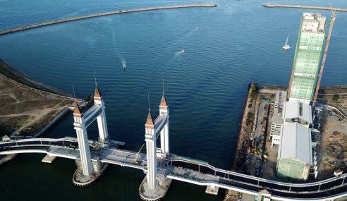 Jambatan Angkat Kuala Terengganu Dibuka 2 Jun