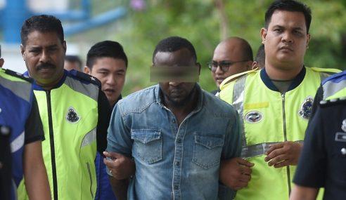 Lelaki Nigeria Suspek Bunuh Siti Kharina Direman 7 Hari