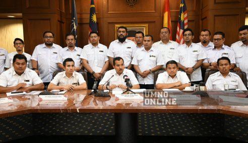 Himpunan Daulat 405: Pemuda UMNO Kerah 2,000 Ahli