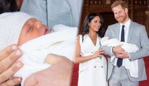 Putera Harry, Meghan Tayang Bayi Lelaki