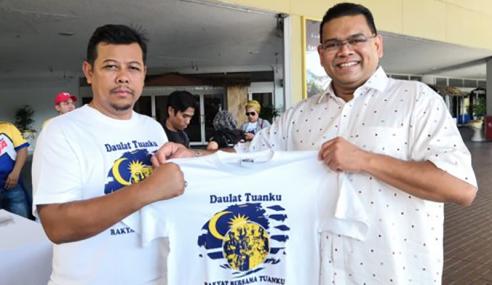 10,000 T-Shirt Bangkit Kesedaran Himpunan 4 Mei Dijual