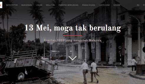 Malaysiakini Putar Belit Sejarah Peristiwa 13 Mei