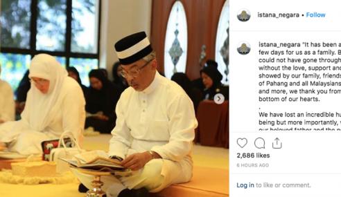 Agong Beriltizam Teruskan Legasi Sifat Sultan Ahmad Shah