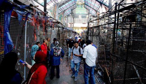 Tapak Bazar Masjid India Terbakar Jadi 'Pedestrian Mall'