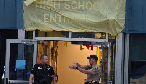 Tembakan Sekolah: 8 Pelajar Cedera, 2 Suspek Ditahan