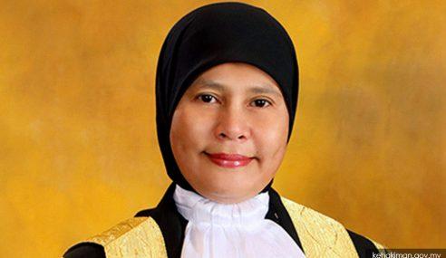 Tengku Maimun Dilantik Ketua Hakim Negara