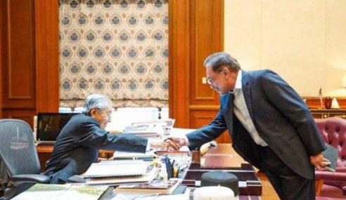 Anwar, Mahathir Setuju Tiada Pertukaran Jawatan TPM