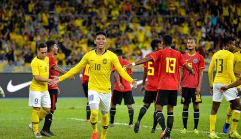Malaysia Belasah Lagi Timor Leste 5-1