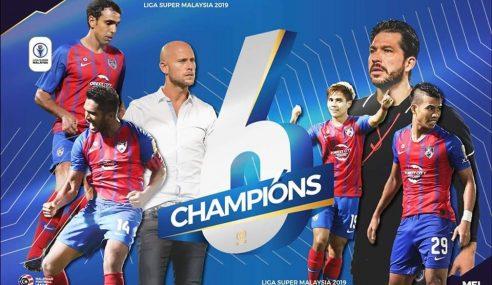 JDT Juara Liga Super Kali Ke-6