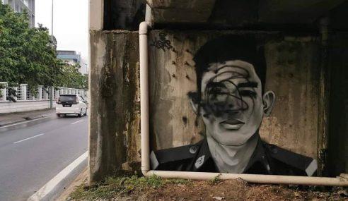 Mural Adib Diconteng, Ada Pihak Cuba Buat Onar