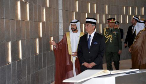Agong Beri Penghormatan Wira-Wira UAE Yang Gugur