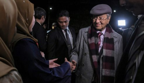 Mahathir Mulakan Lawatan Kerja 3 Hari Ke UK