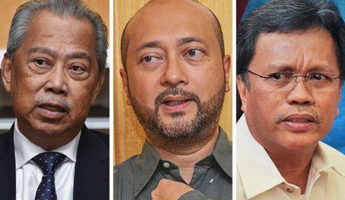 Muhyiddin, Mukhriz, Shafie Tidak Terima Dana 1MDB