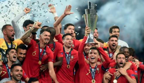Portugal Juara Sulung Liga Negara-Negara