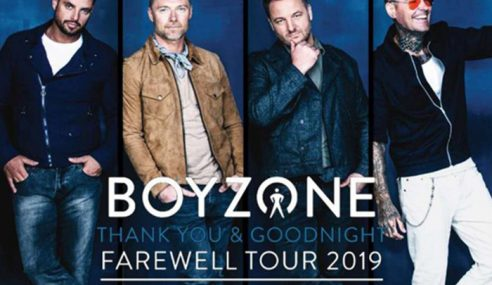 Tiket Konsert Terakhir Boyzone Laris