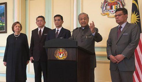 Mahathir Tak Tahu Video Seks Sejenis Mirip Menteri