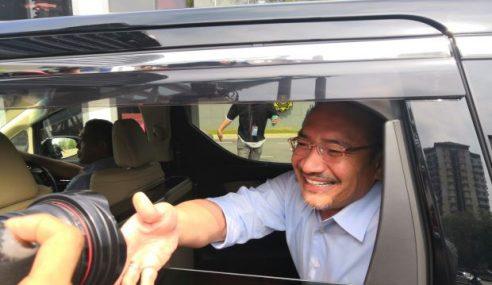 Hishamuddin Ke SPRM Beri Keterangan Isu 'Land Swap'