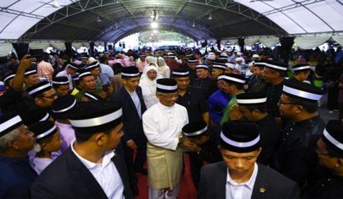 Agong, Permaisuri Berangkat Ke Majlis Aidilfitri MB Pahang