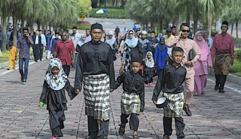 Ribuan Hadir Rumah Terbuka Aidilfitri PM, Jemaah Menteri