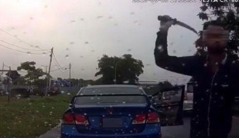 Samseng Jalan Raya Sudah Ditangkap