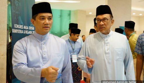 Azmin Anjur Majlis Kesyukuran, Anwar Buat Majlis Selawat
