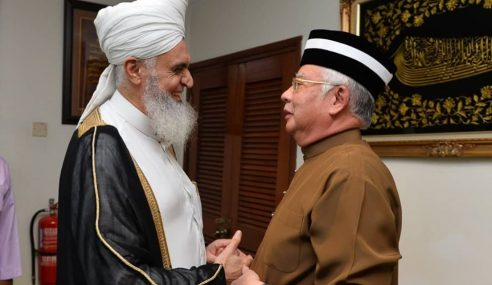 Imam Masjid Al-Aqsa Jadi Tetamu Najib