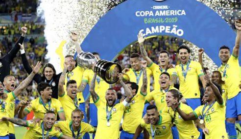 Brazil Julang Piala Kesembilan Copa America