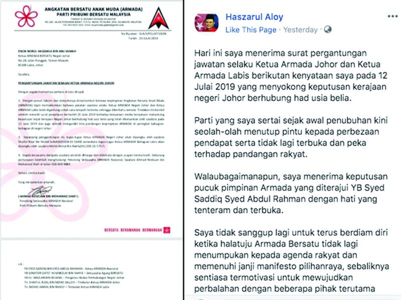 Syed Saddiq Sering Cetus Masalah Dengan Istana Johor