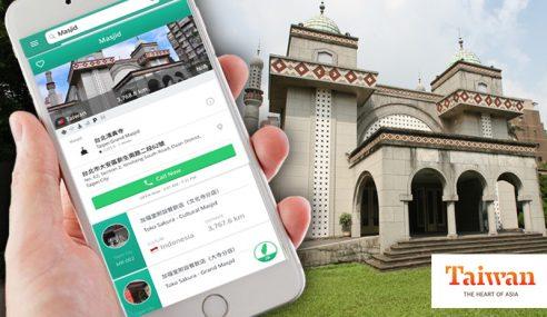 Apps Memudahkan Pelancong Islam Di Taiwan