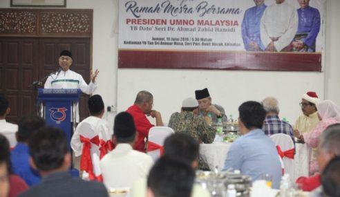 """Selagi Saya Hidup, UMNO Tak Khianati PAS"" – Zahid"