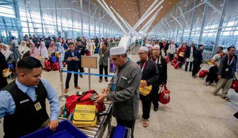 Kumpulan Pertama, Kedua Jemaah Haji Malaysia Selamat Tiba