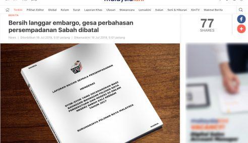Bersih 2.0 Dedah Embargo Parlimen Boleh Pula? – Najib