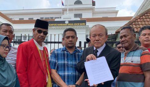 171 Penduduk Pasir Gudang Tuntut Ganti Rugi RM30 Juta