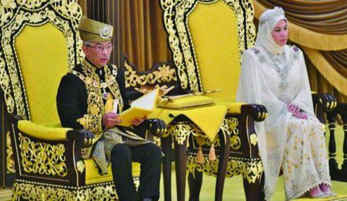 Ikrar Al-Sultan Abdullah Sebagai Yang Di-Pertuan Agong Ke-16