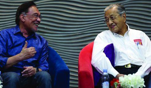 """Saya Takkan Mungkir Janji"" – Mahathir"