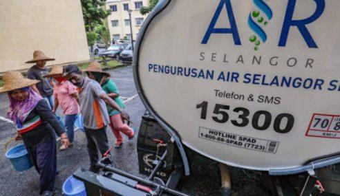 Gangguan Air Selasa Depan Ditangguhkan