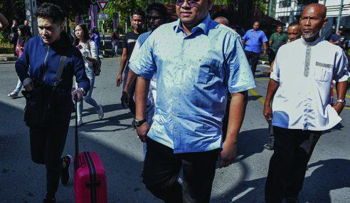 Tuduh KPN Menipu, Polis Rekod Keterangan Lokman Adam