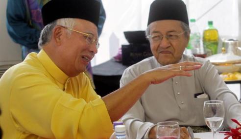 Najib Ucap Selamat Hari Jadi Kepada Mahathir