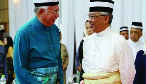 Sebab Najib Tidak Hadir Majlis Pertabalan Agong?