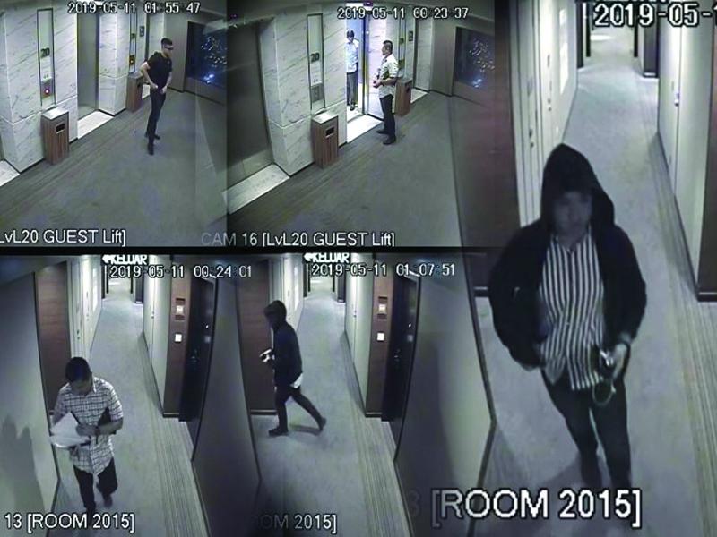 Klip CCTV Hotel Four Points Sudah Diserah Pihak Berkuasa