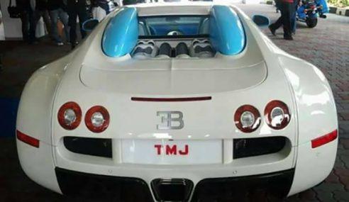Nombor Plat 'TMJ' Ditanya Di Parlimen
