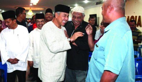 Zahid Dedah 'Pertemuan', 3 Syarat Kepada BERSATU