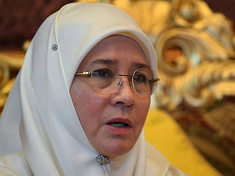 Permaisuri Agong Ucap Takziah Keluarga Syed Muhammad Danial