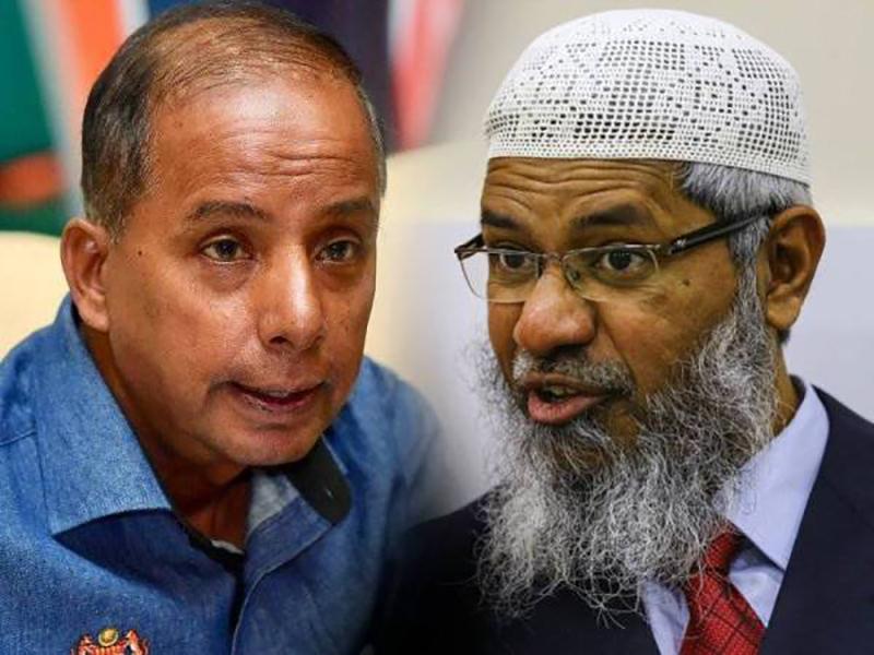 Zakir Naik Hantar Surat Tuntut Kula Segaran Minta Maaf