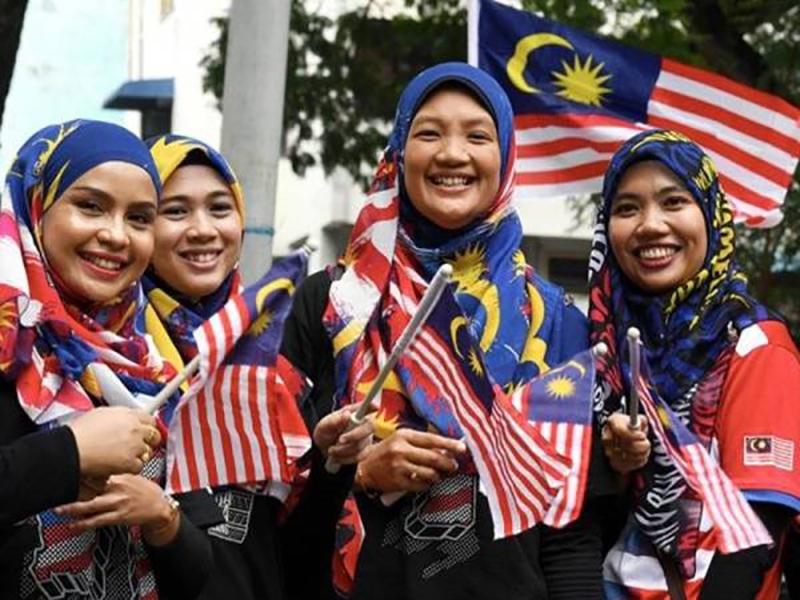 Tudung Merdeka Trend Raikan Sambutan Hari Kebangsaan