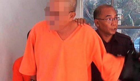 Rogol, Liwat Anak Tiri, Warga Emas Dipenjara 20 Tahun