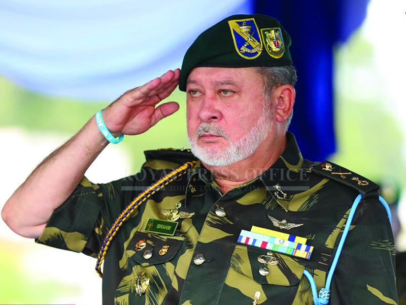 """GGK: """"Saya Bukan Patung"""" – Sultan Ibrahim"""