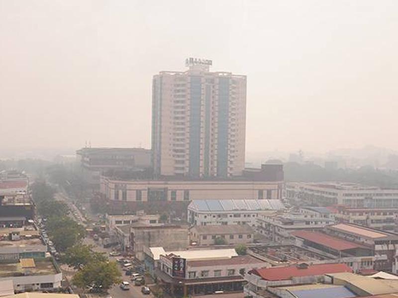 Kualiti Udara Di Miri Kekal Tahap Bahaya, IPU Cecah 400